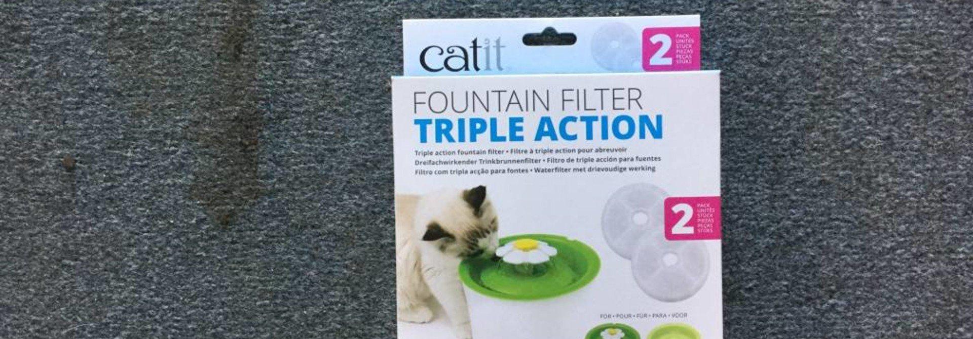 CA 2.0 Trpl Action Fntain Filter, 2 pk