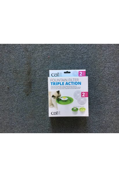 CA 2.0 Triple Action Fountain Filter 2pk