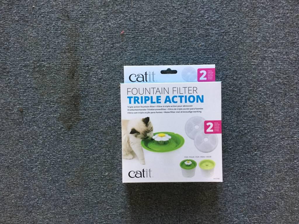 CA 2.0 Trpl Action Fntain Filter, 2 pk-1
