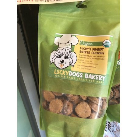 Luckydogs Organic Peanut Butter