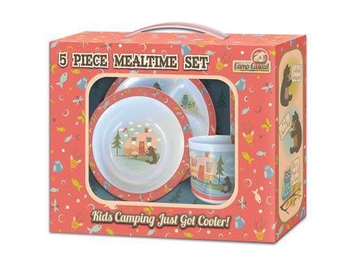 Camp Casual Camp Casual - 5 Piece Mealtime Set