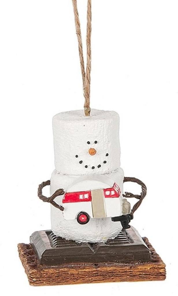 S'more Marshmallow Ornaments