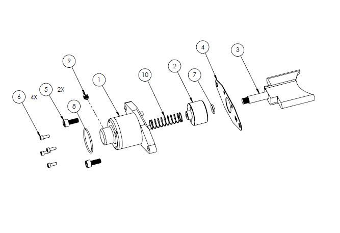 PM07-18 - Powervalve assembly