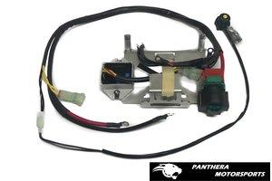 YZ250 battery box assembly (With regulator)