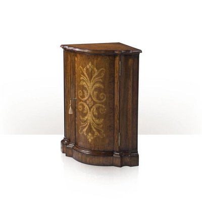 Theodore Alexander A hickory corner cabinet