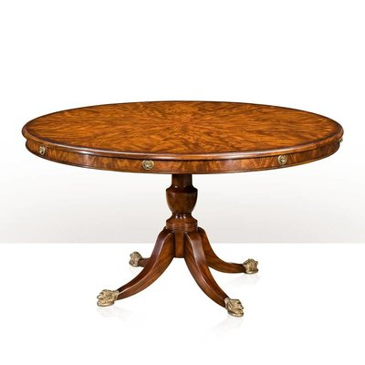 Theodore Alexander A mahogany circular breakfast / dining table