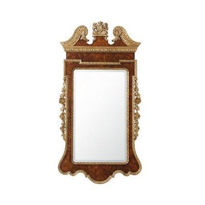 Theodore Alexander Suede Gilt Mirror
