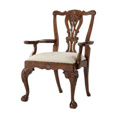 Theodore Alexander Crested Armchair