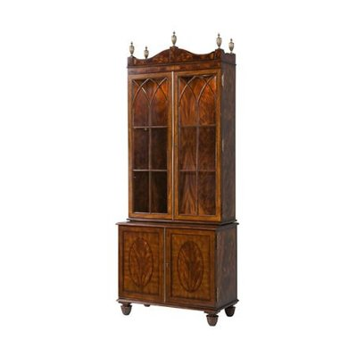 Theodore Alexander The Sheraton Astragal Bookcase