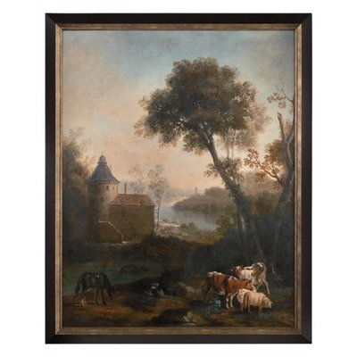 John Richard 50x62x3 THE CASTLE'S PASTURE