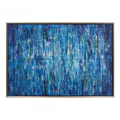 """John Richard 72X49 """"JINLU"""" BLUE"""