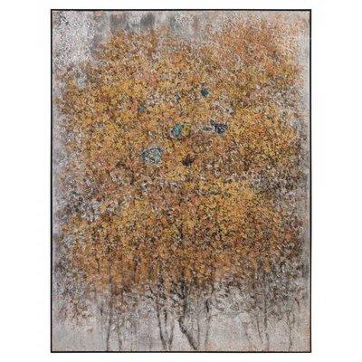 John Richard 50.5x67.5x2 TENG FEI'S GILDED BUTTERFLIE