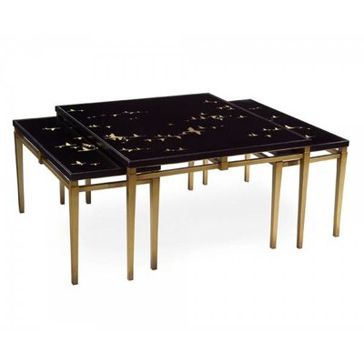 John Richard 3 PIECE MIGRATION COCKTAIL TABLE