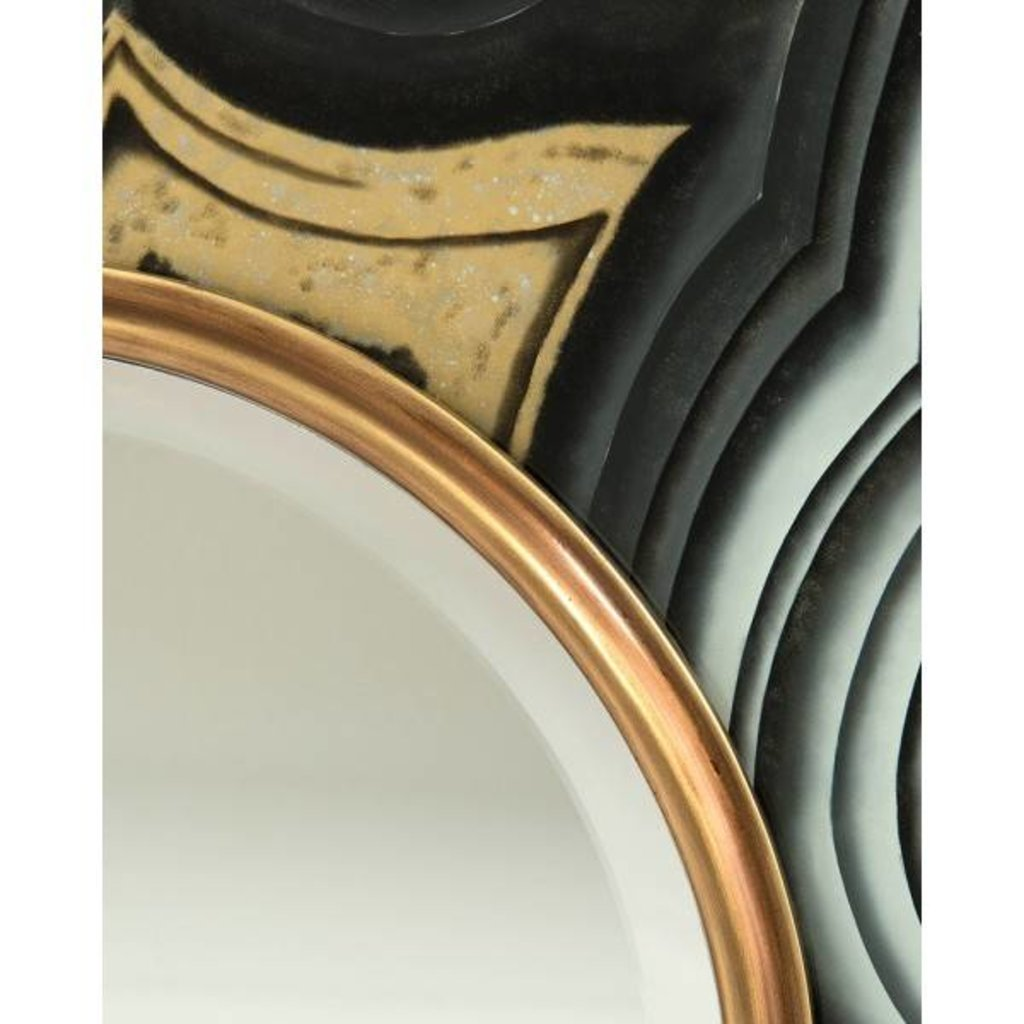 John Richard 50x50x2.25 AGATE MIRROR