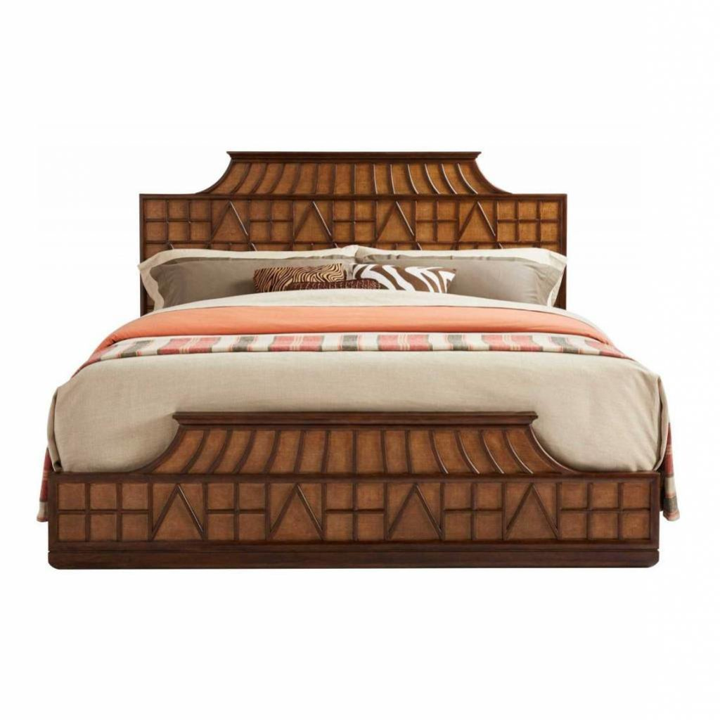 Stanley Amistad Fretwork Bed Cal King