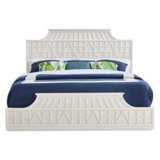 Stanley Amistad Fretwork Bed Queen