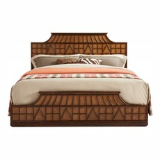 Stanley Amistad Fretwork Bed King
