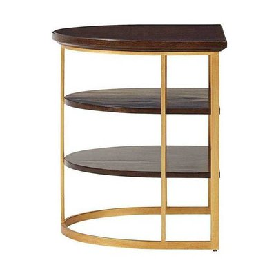 Stanley Demilune End Table
