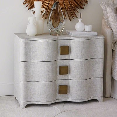 Global Views ~Toile Linen Chest