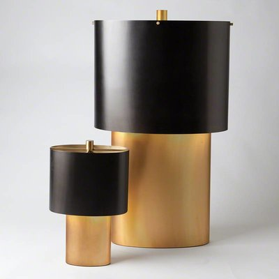 Global Views ~Nordic Gold Table Lamp-Sm