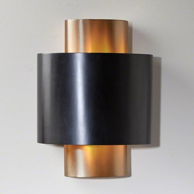 Global Views ~Nordic Gold Wall Sconce-Hardwired