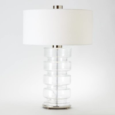 Global Views ~Clear Belted Lamp