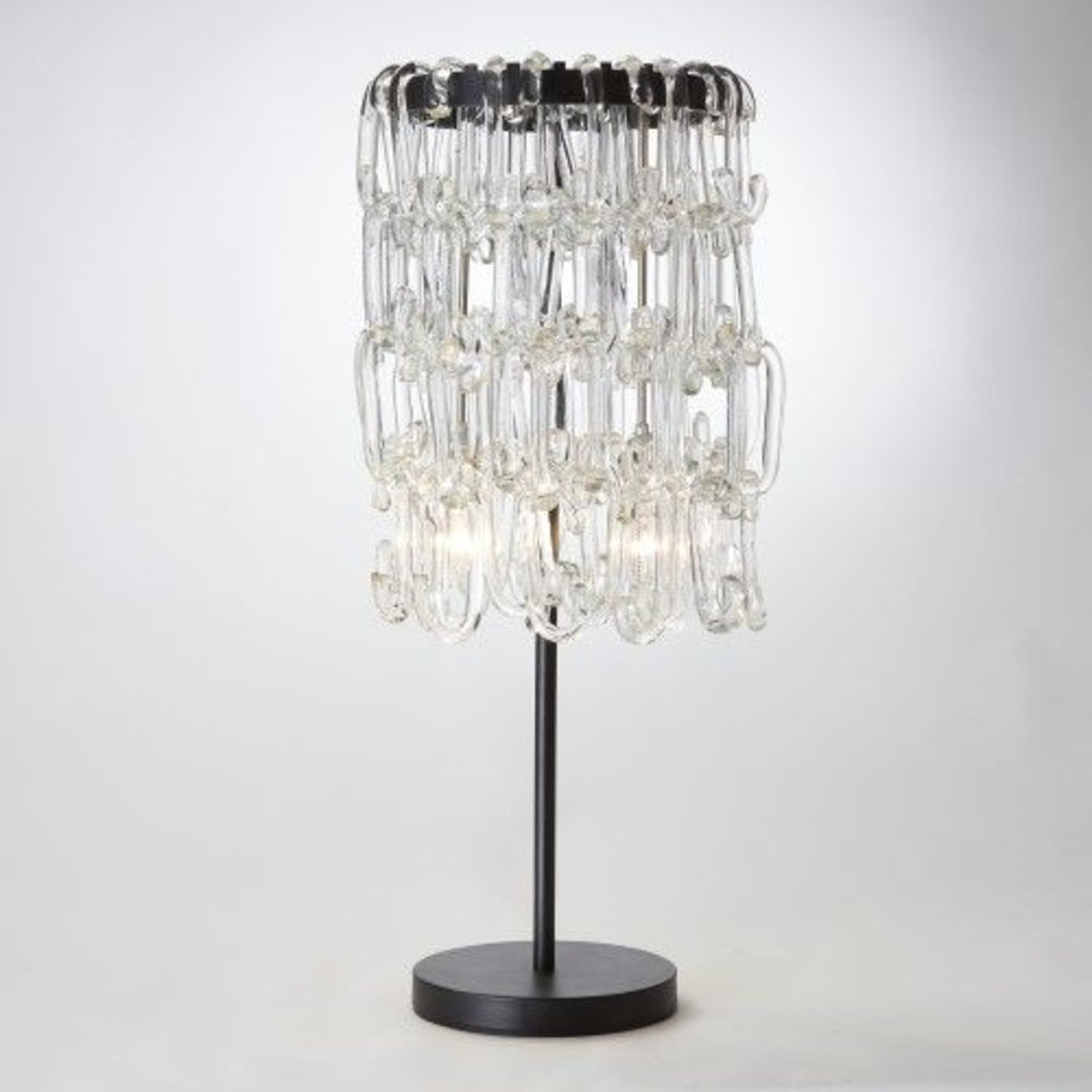 "Global Views ~36"" C Table Lamp"