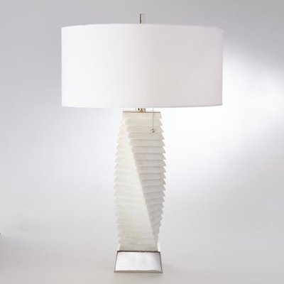 Global Views ~Twisted Marble Lamp