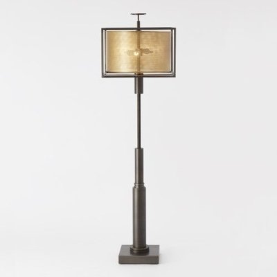 Global Views ~Bambooesque Lamp-Antique Brass