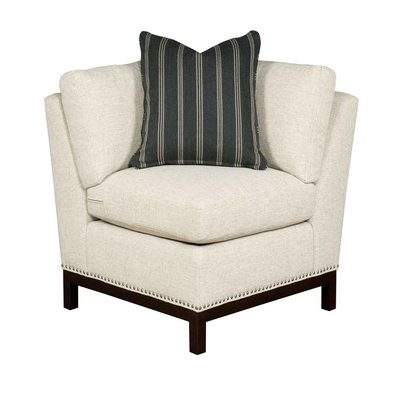 Resource Decor Hudson Corner Chair  - Wood Base / Grade 1