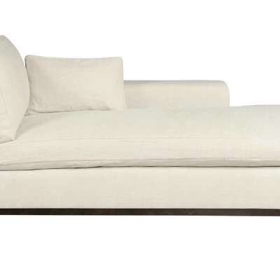 Resource Decor Hudson Chaise - Right Arm Facing / Wood Base / Grade 1