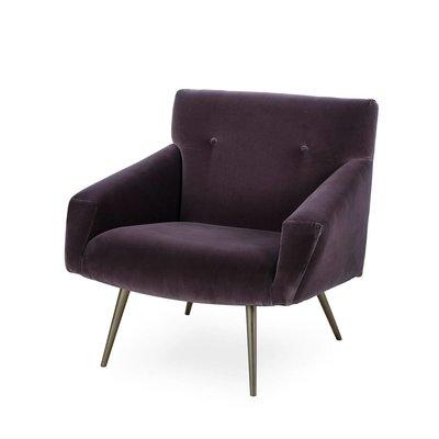 Resource Decor Kelly Chair - Brown Velvet