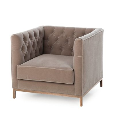 Resource Decor Vinci Tufted Occasional Chair - Mohair