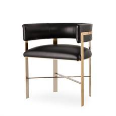 Resource Decor Art Dining Chair - Mirrored Brass / Grade 1