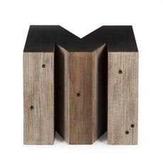 Resource Decor Alphabet Side Table - Letter M