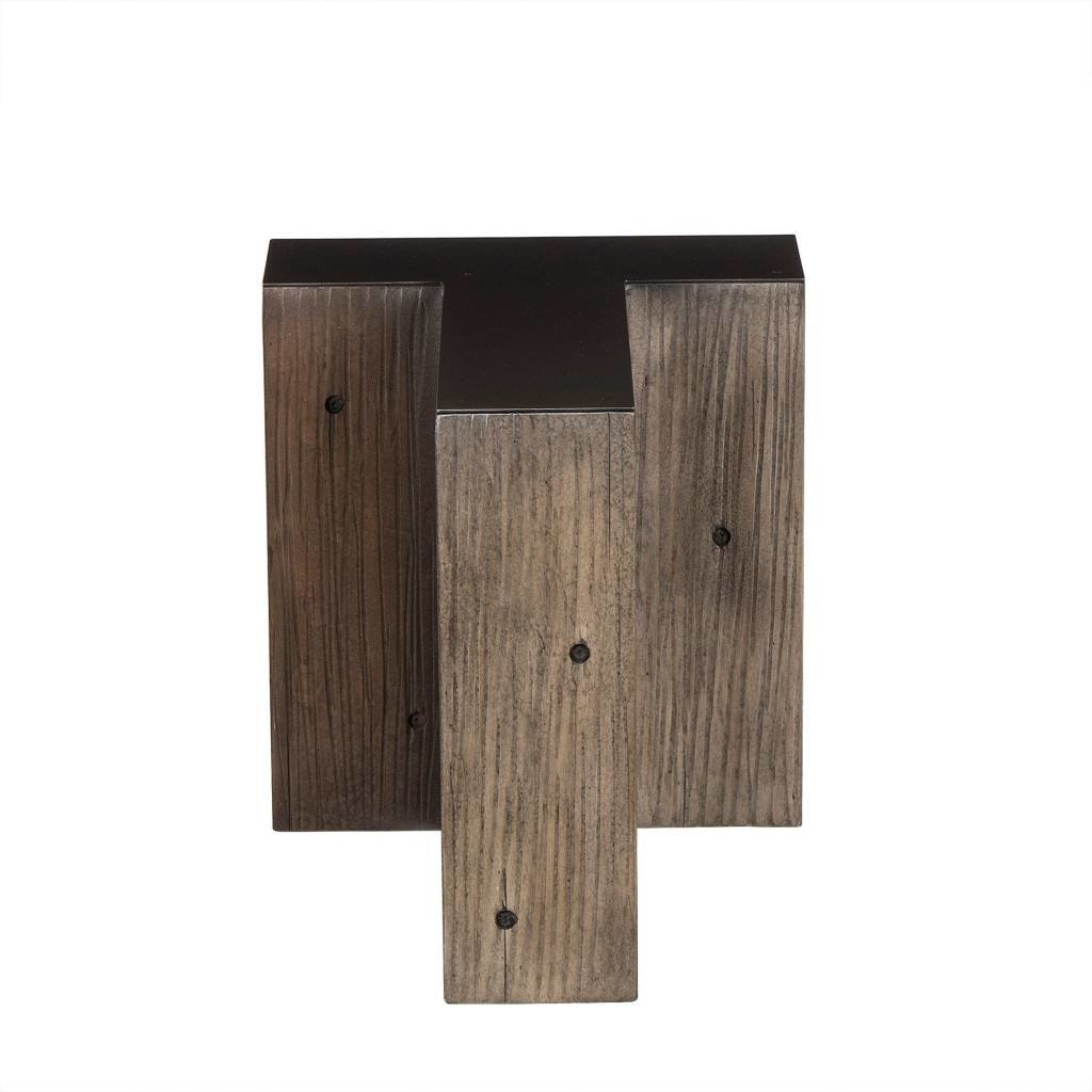 Resource Decor Alphabet Side Table - Letter T