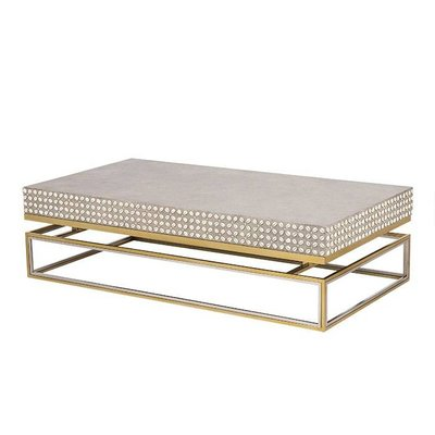 Resource Decor Cowrie Coffee Table - Concrete Top