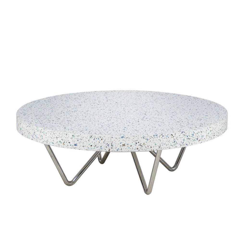 purchase cheap 5ef11 76ef9 Resource Decor Terrazzo Coffee Table - Round