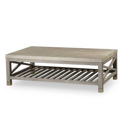 Resource Decor Percival Coffee Table - Metallic Shagreen