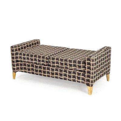 Resource Decor Lowrider Bench - Patriotic Fabric