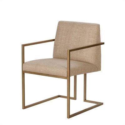 Resource Decor Ashton Arm Chair- Marley Hemp