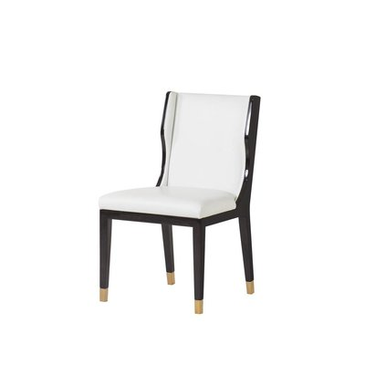 Resource Decor Taylor Dinning Chair - White Leather