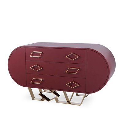 Resource Decor Sting Credenza - Red