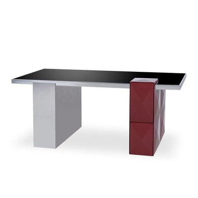 Resource Decor Picasso Desk - Burgandy