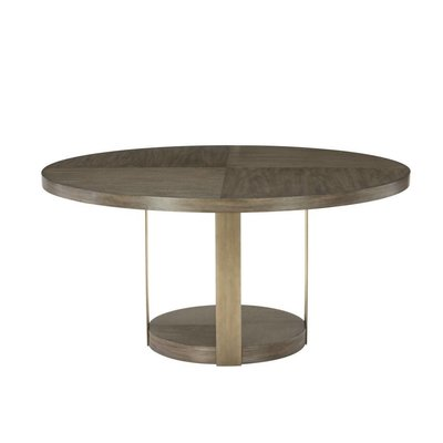 Bernhardt ??? ?? ???? Profile Round Dining Table