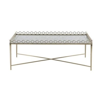 Bernhardt ??? ?? ??? Marquesa Metal Cocktail Table with Glass Top