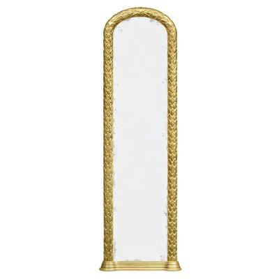 Jonathan Charles Narrow Floor Standing Mirror