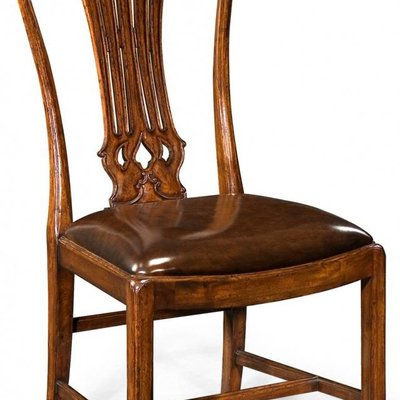Jonathan Charles Mahogany Pierced Splat Back Chair