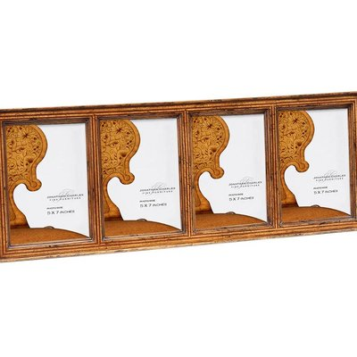 Jonathan Charles Satinwood Ribbed Picture Frame