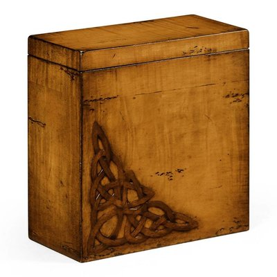 Jonathan Charles Raised Celtic Veneer Tall Box